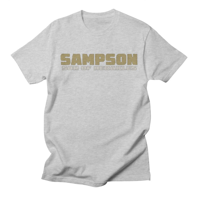 Sampson Son of Herakles Women's Regular Unisex T-Shirt by The Official Bustillo Publishing Shop