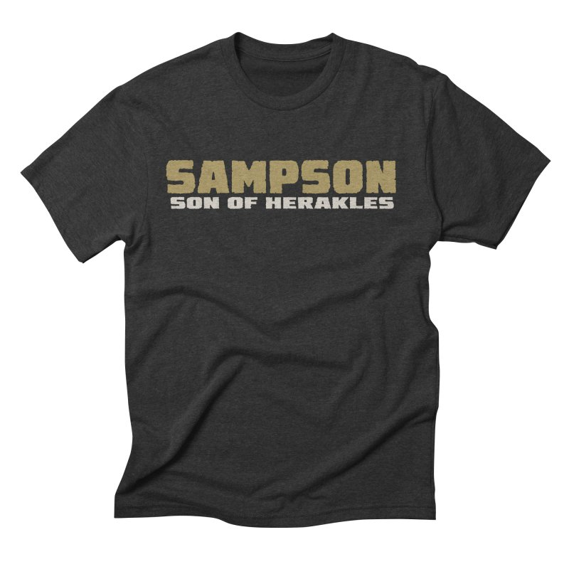 Sampson Son of Herakles Men's Triblend T-Shirt by The Official Bustillo Publishing Shop
