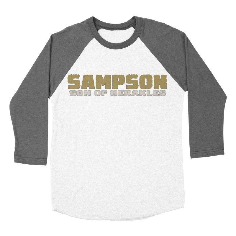 Sampson Son of Herakles Women's Longsleeve T-Shirt by The Official Bustillo Publishing Shop