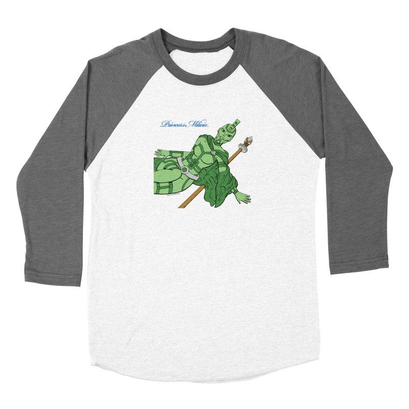 Princess Milicia after Roxy Music Men's Baseball Triblend Longsleeve T-Shirt by The Official Bustillo Publishing Shop