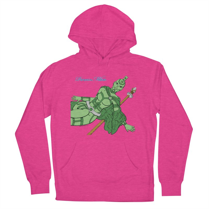Princess Milicia after Roxy Music Men's French Terry Pullover Hoody by The Official Bustillo Publishing Shop