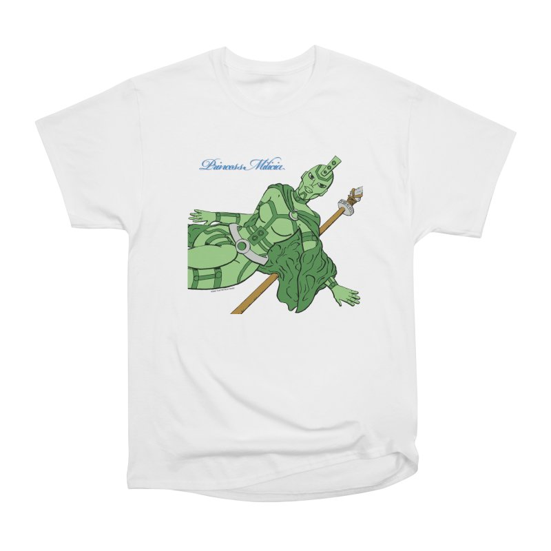 Princess Milicia after Roxy Music Women's Heavyweight Unisex T-Shirt by The Official Bustillo Publishing Shop
