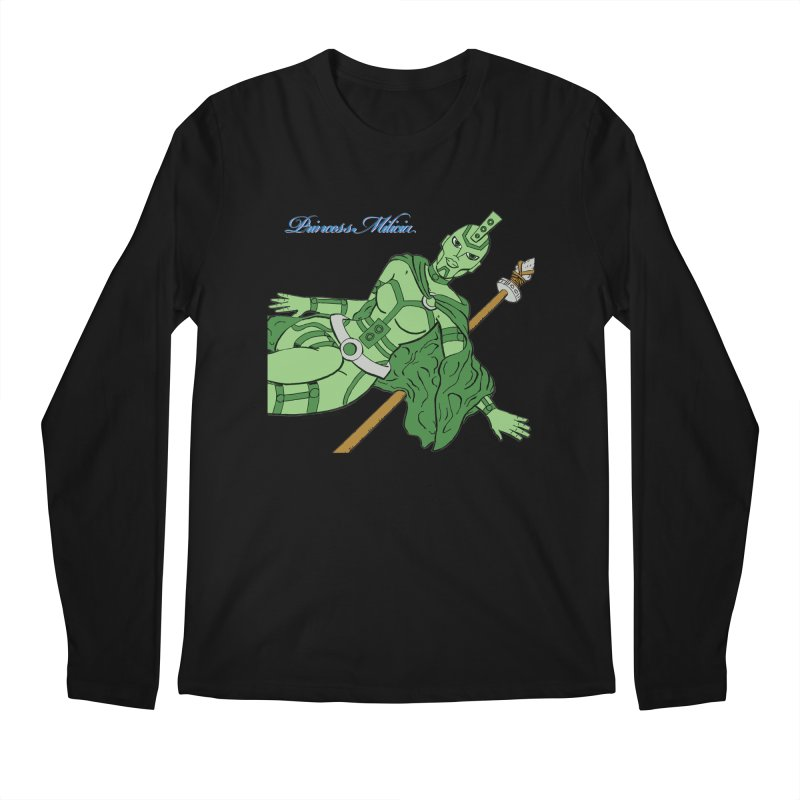Princess Milicia after Roxy Music Men's Regular Longsleeve T-Shirt by The Official Bustillo Publishing Shop
