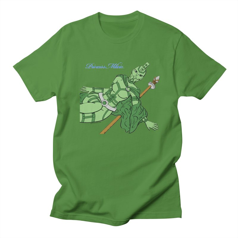 Princess Milicia after Roxy Music Men's T-Shirt by The Official Bustillo Publishing Shop