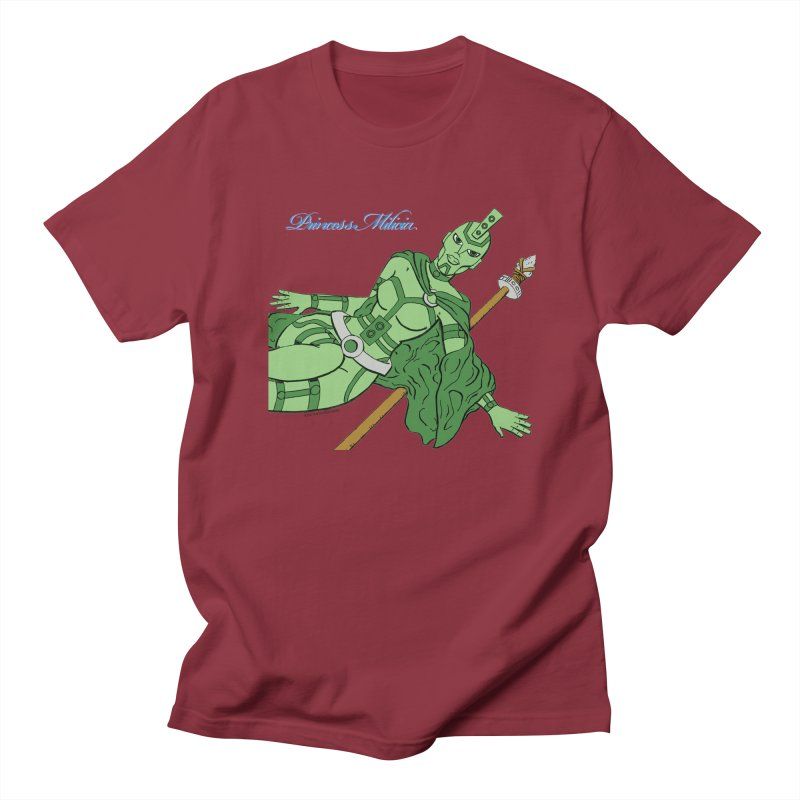 Princess Milicia after Roxy Music Women's Regular Unisex T-Shirt by The Official Bustillo Publishing Shop