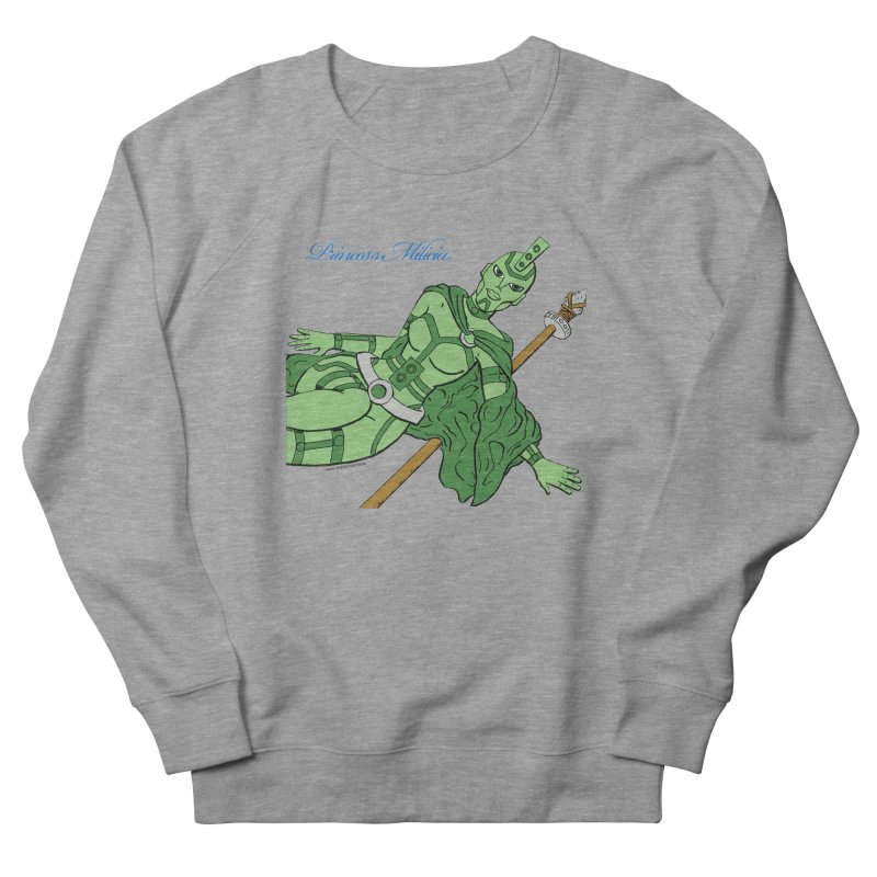 Princess Milicia after Roxy Music Women's French Terry Sweatshirt by The Official Bustillo Publishing Shop
