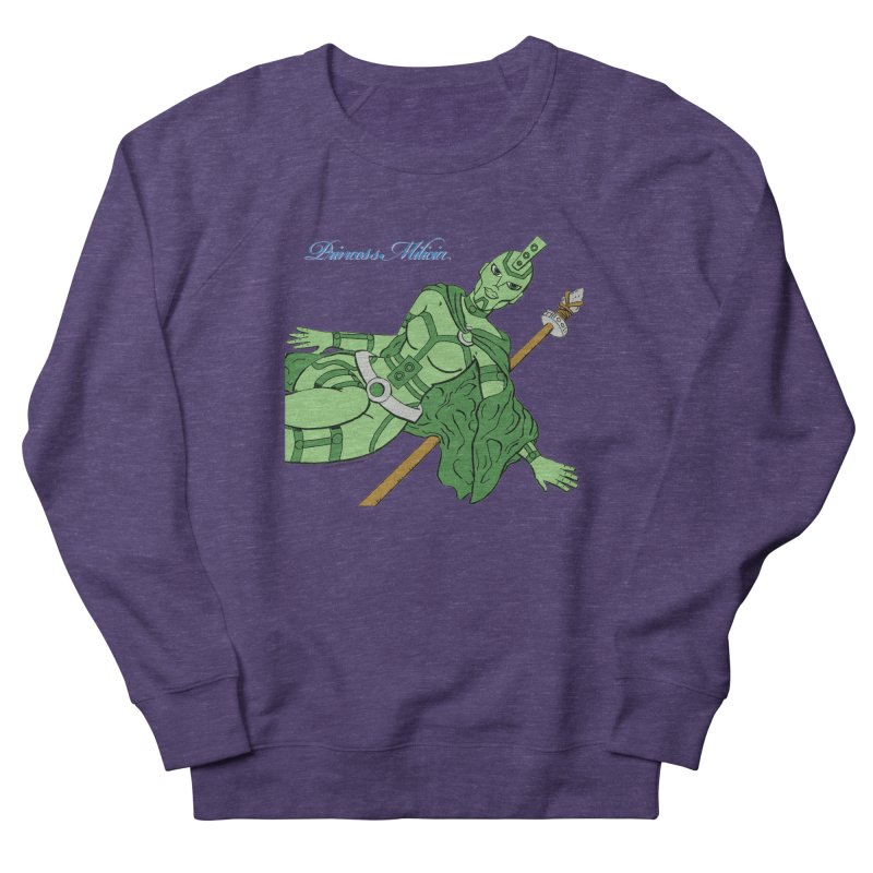 Princess Milicia after Roxy Music Men's French Terry Sweatshirt by The Official Bustillo Publishing Shop
