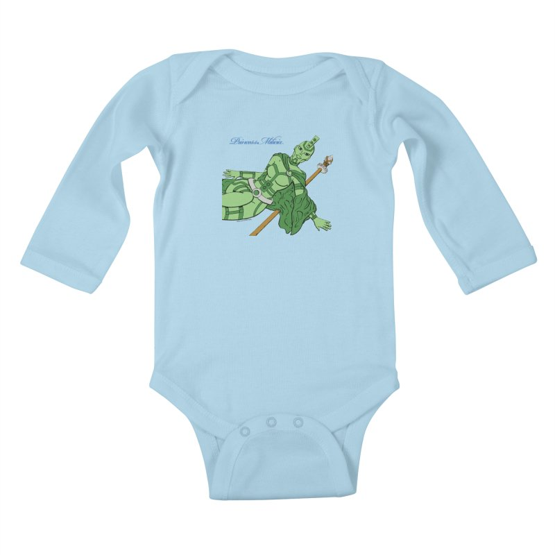 Princess Milicia after Roxy Music Kids Baby Longsleeve Bodysuit by The Official Bustillo Publishing Shop
