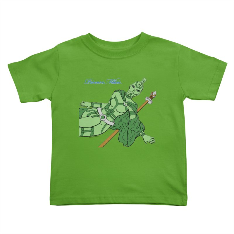 Princess Milicia after Roxy Music Kids Toddler T-Shirt by The Official Bustillo Publishing Shop
