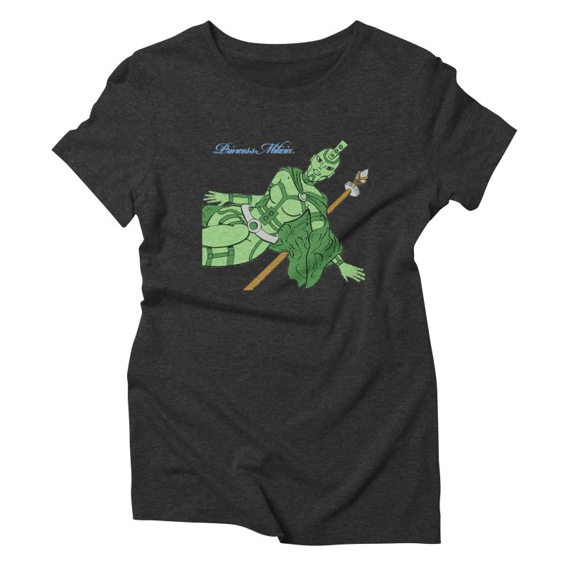 Princess Milicia after Roxy Music Women's T-Shirt by The Official Bustillo Publishing Shop