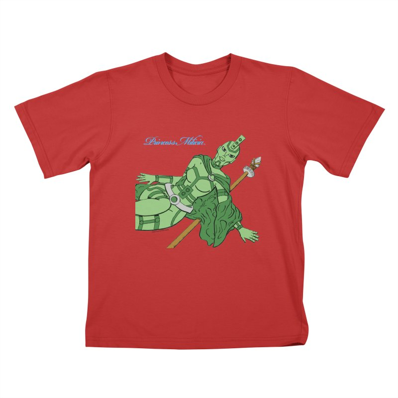 Princess Milicia after Roxy Music Kids T-Shirt by The Official Bustillo Publishing Shop