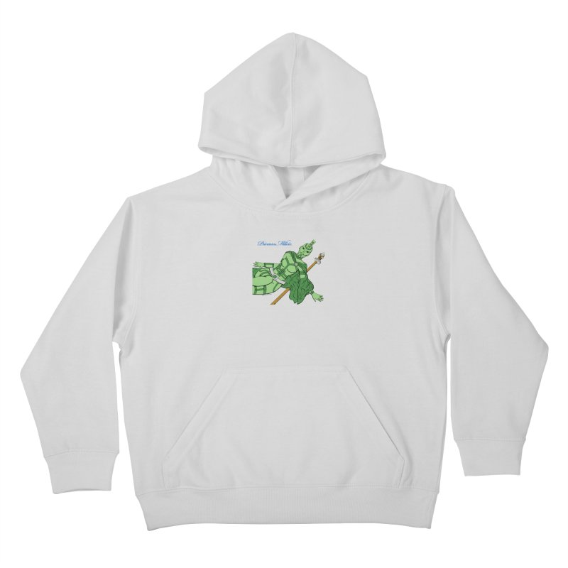 Princess Milicia after Roxy Music Kids Pullover Hoody by The Official Bustillo Publishing Shop