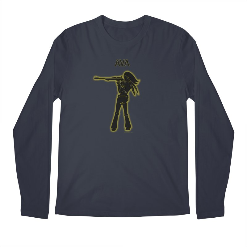 Ava after Electric Warrior Men's Regular Longsleeve T-Shirt by The Official Bustillo Publishing Shop