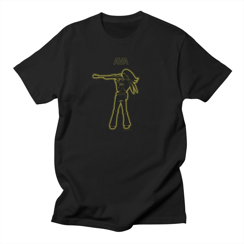 Ava after Electric Warrior Men's Regular T-Shirt by The Official Bustillo Publishing Shop