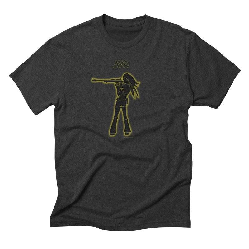Ava after Electric Warrior Men's Triblend T-Shirt by The Official Bustillo Publishing Shop