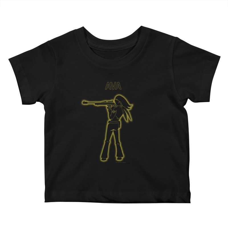 Ava after Electric Warrior Kids Baby T-Shirt by The Official Bustillo Publishing Shop