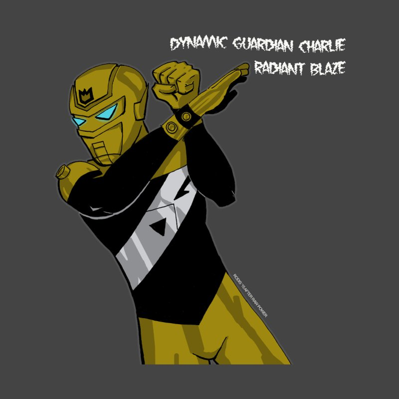 Dynamic Guardian Charlie after Raw Power Men's Sweatshirt by The Official Bustillo Publishing Shop
