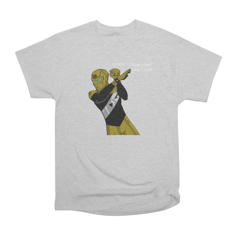 Dynamic Guardian Charlie after Raw Power Men's Heavyweight T-Shirt by The Official Bustillo Publishing Shop