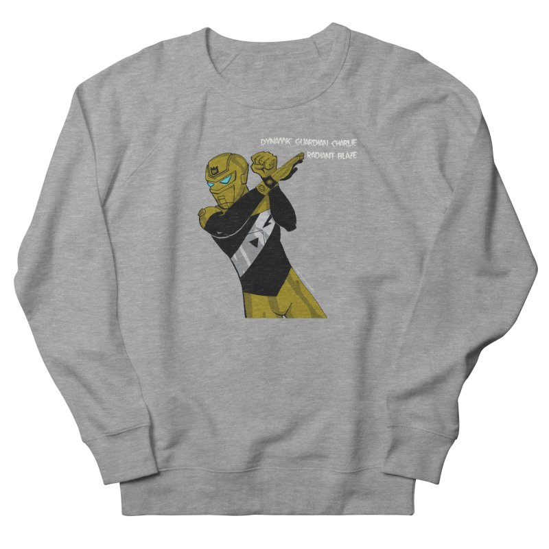 Dynamic Guardian Charlie after Raw Power Men's French Terry Sweatshirt by The Official Bustillo Publishing Shop