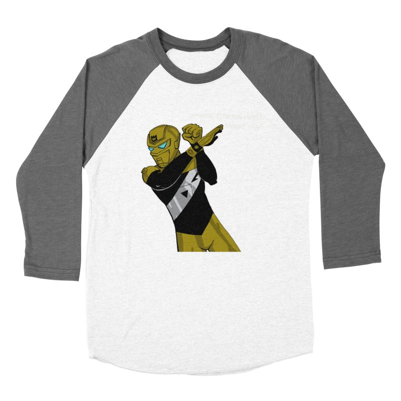 Dynamic Guardian Charlie after Raw Power Men's Baseball Triblend Longsleeve T-Shirt by The Official Bustillo Publishing Shop
