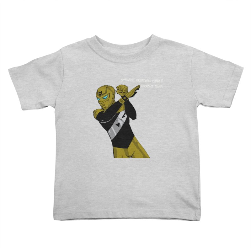 Dynamic Guardian Charlie after Raw Power Kids Toddler T-Shirt by The Official Bustillo Publishing Shop