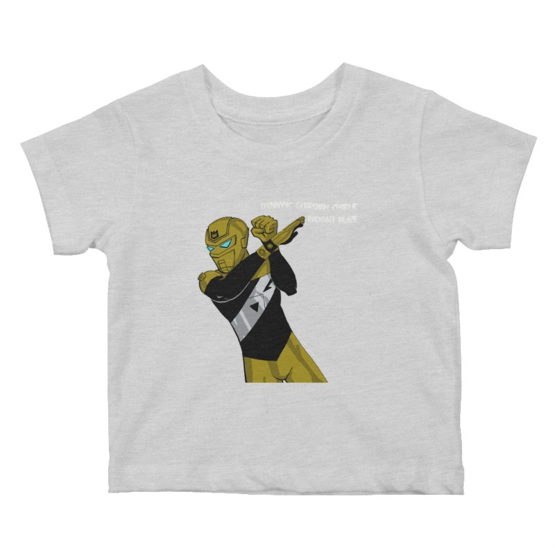 Dynamic Guardian Charlie after Raw Power Kids Baby T-Shirt by The Official Bustillo Publishing Shop