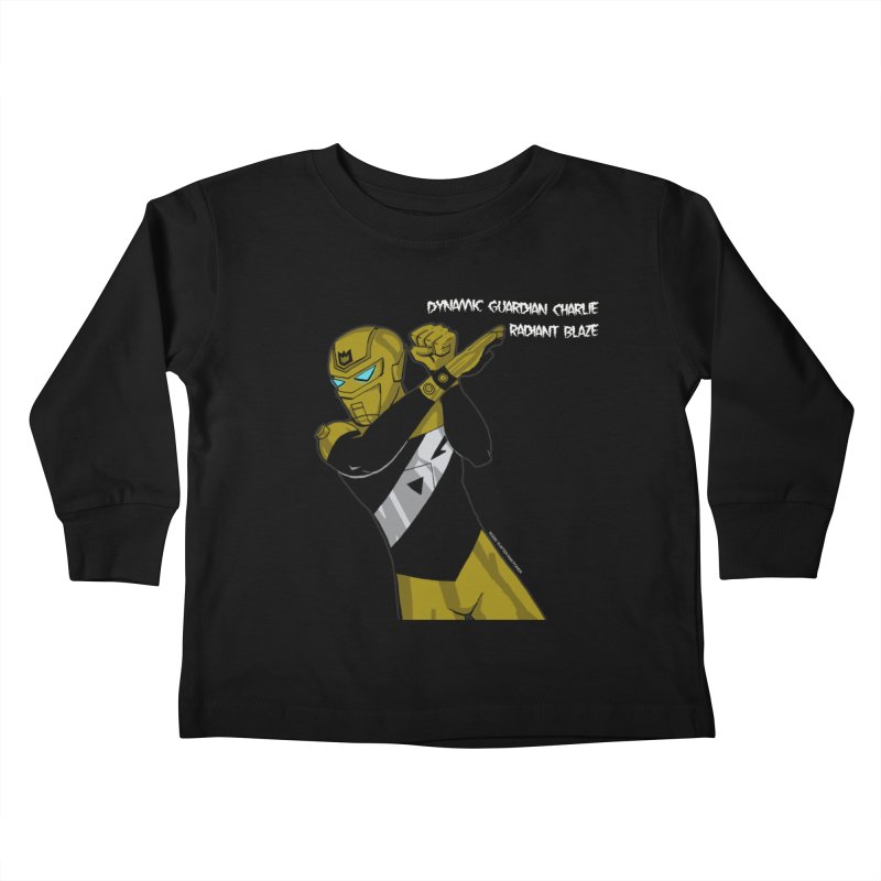 Dynamic Guardian Charlie after Raw Power Kids Toddler Longsleeve T-Shirt by The Official Bustillo Publishing Shop