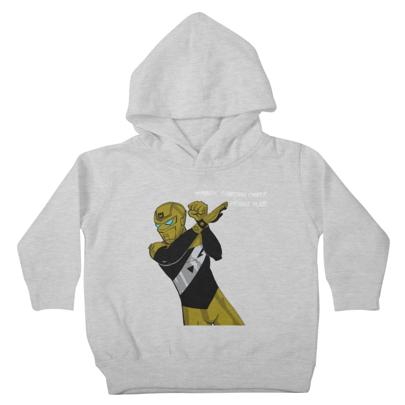 Dynamic Guardian Charlie after Raw Power Kids Toddler Pullover Hoody by The Official Bustillo Publishing Shop