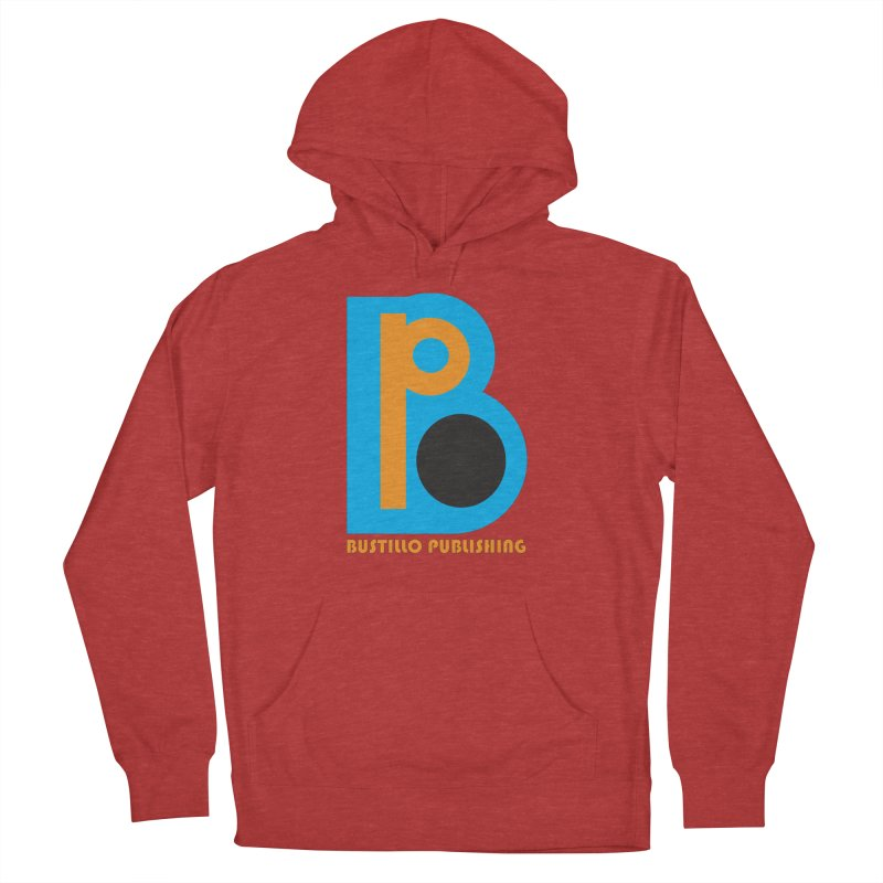 Bustillo Publishing Logo Men's French Terry Pullover Hoody by The Official Bustillo Publishing Shop