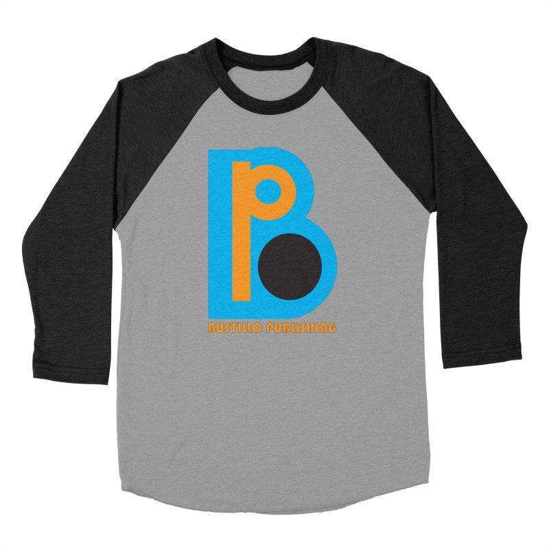 Bustillo Publishing Logo Men's Baseball Triblend Longsleeve T-Shirt by The Official Bustillo Publishing Shop