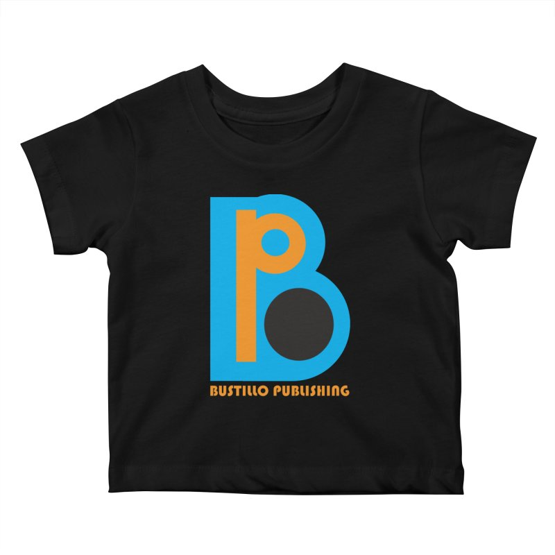 Bustillo Publishing Logo Kids Baby T-Shirt by The Official Bustillo Publishing Shop