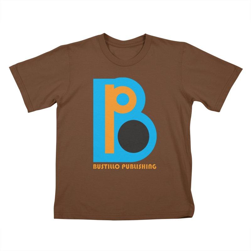 Bustillo Publishing Logo Kids T-Shirt by The Official Bustillo Publishing Shop