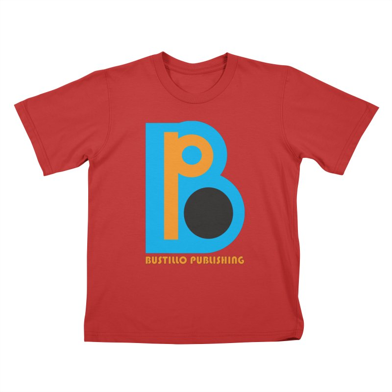 Bustillo Publishing Logo Kids T-Shirt by The Official Bustillo Publishing Shop