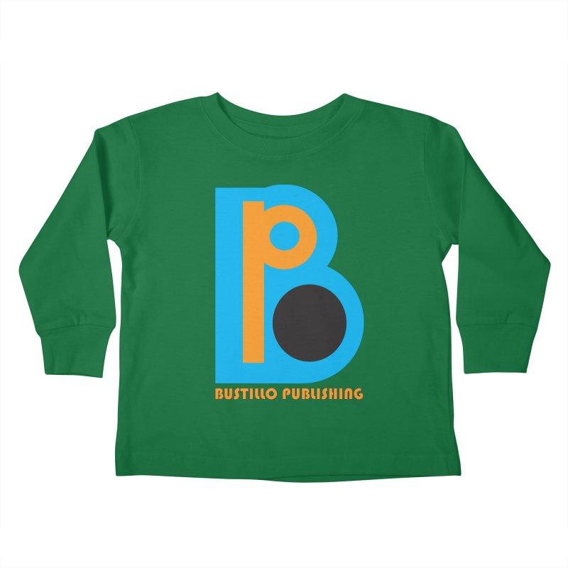 Bustillo Publishing Logo Kids Toddler Longsleeve T-Shirt by The Official Bustillo Publishing Shop