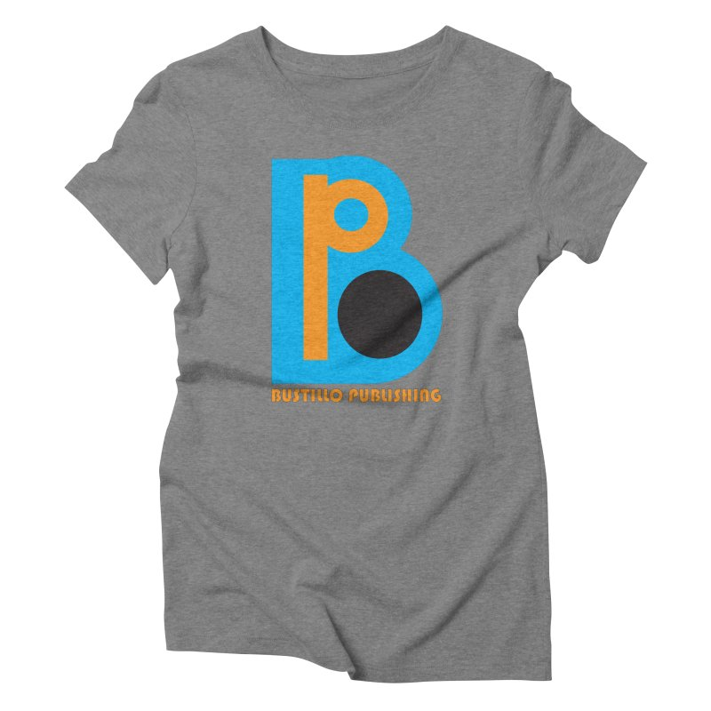Bustillo Publishing Logo Women's Triblend T-Shirt by The Official Bustillo Publishing Shop