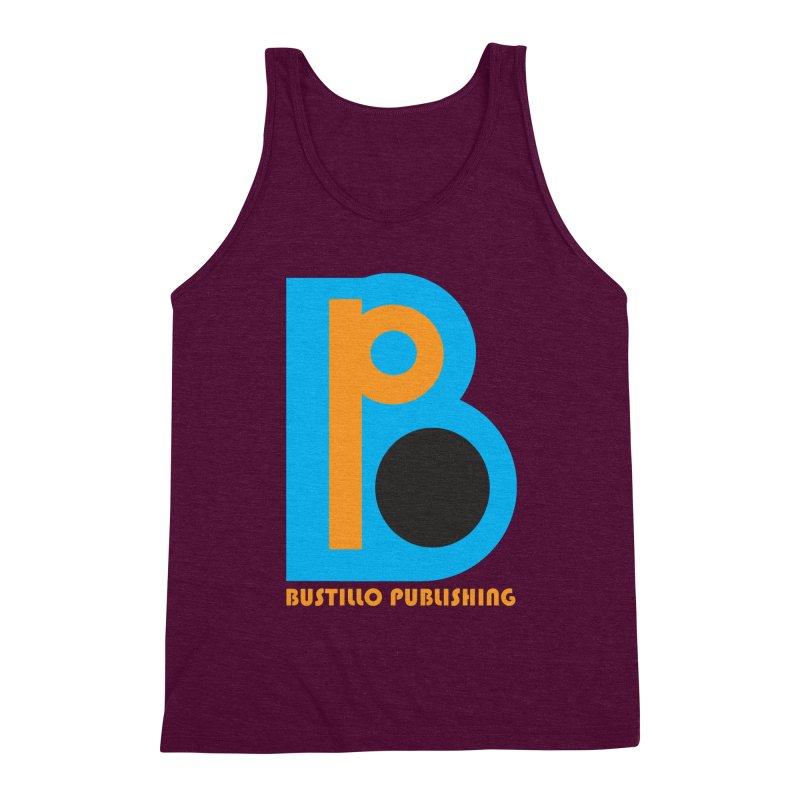 Bustillo Publishing Logo Men's Triblend Tank by The Official Bustillo Publishing Shop