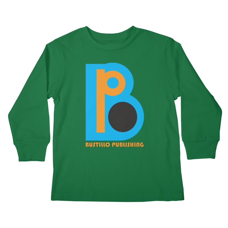 Bustillo Publishing Logo Kids Longsleeve T-Shirt by The Official Bustillo Publishing Shop