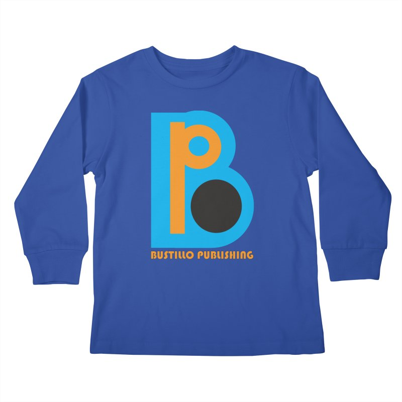 Bustillo Publishing Logo Kids Longsleeve T-Shirt by The Official Bustillo Publishing Shop
