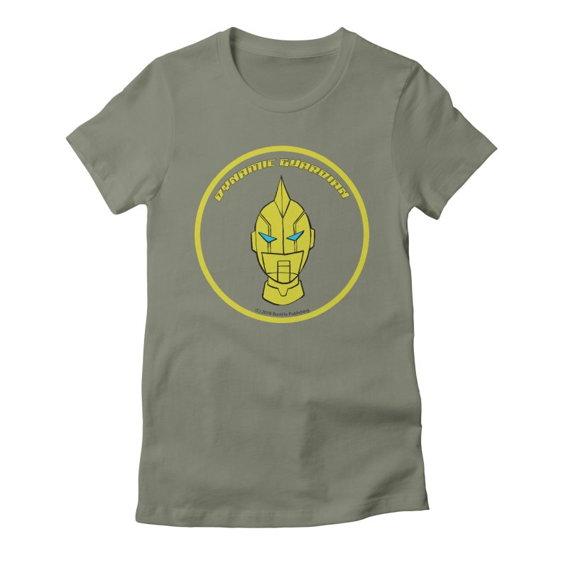 Dynamic Guardian Women's Fitted T-Shirt by The Official Bustillo Publishing Shop