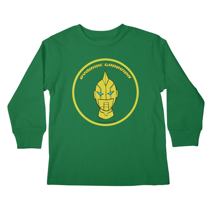 Dynamic Guardian Kids Longsleeve T-Shirt by The Official Bustillo Publishing Shop