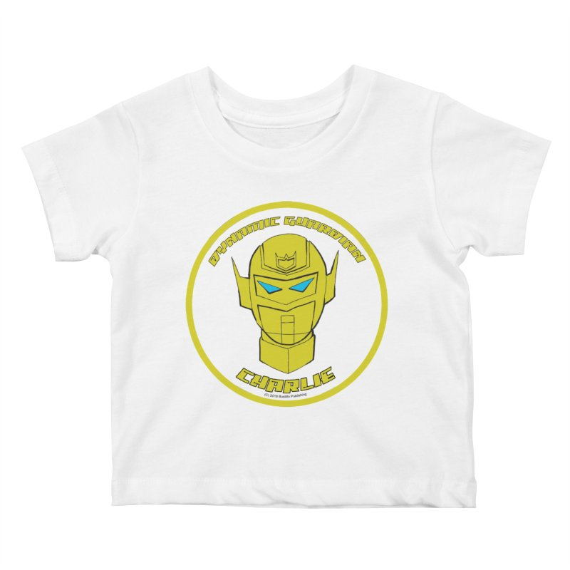 Dynamic Guardian Charlie Kids Baby T-Shirt by The Official Bustillo Publishing Shop