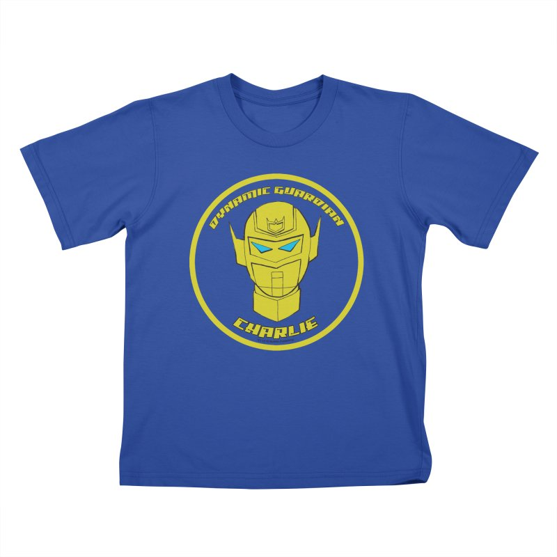 Dynamic Guardian Charlie Kids T-Shirt by The Official Bustillo Publishing Shop