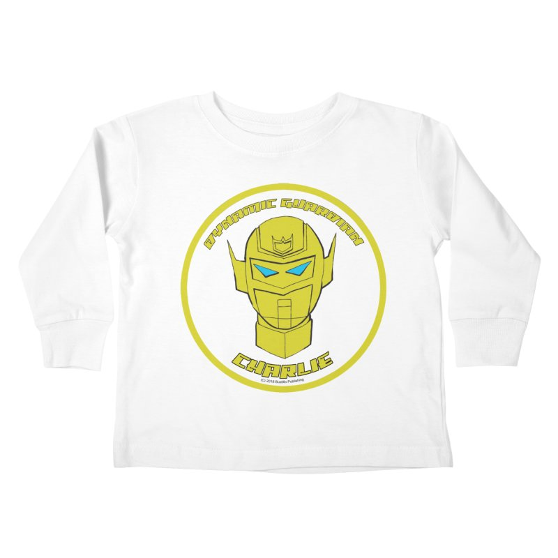 Dynamic Guardian Charlie Kids Toddler Longsleeve T-Shirt by The Official Bustillo Publishing Shop