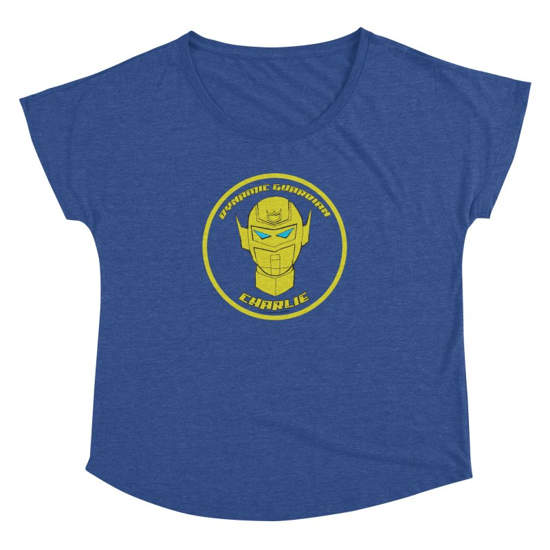 Dynamic Guardian Charlie Women's Dolman Scoop Neck by The Official Bustillo Publishing Shop