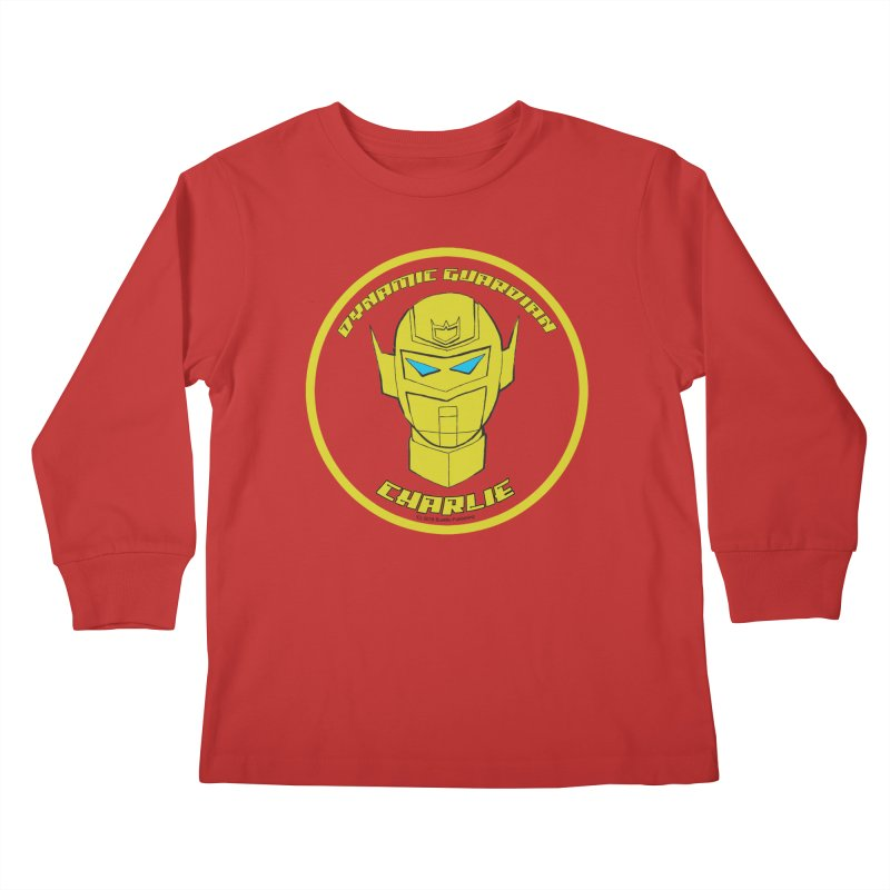 Dynamic Guardian Charlie Kids Longsleeve T-Shirt by The Official Bustillo Publishing Shop