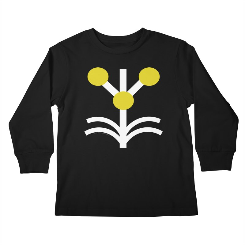 SAMPSON Son of Herakles Kids Longsleeve T-Shirt by The Official Bustillo Publishing Shop