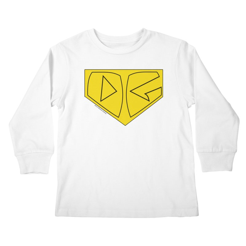 Dynamic Guardian Emblem Kids Longsleeve T-Shirt by The Official Bustillo Publishing Shop