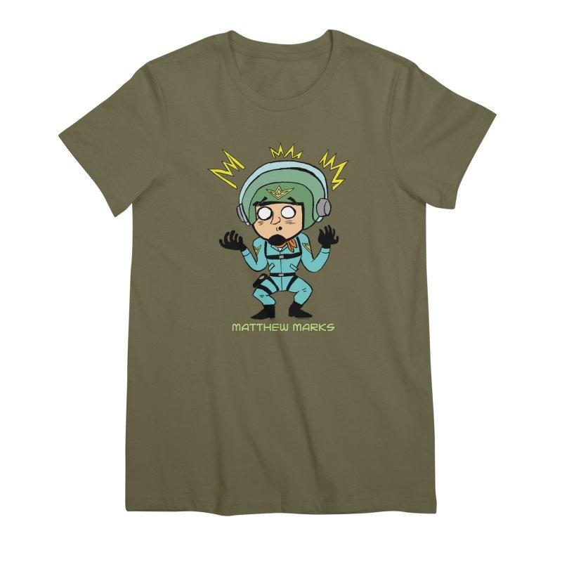 Matthew Marks Surprised Women's Premium T-Shirt by The Official Bustillo Publishing Shop