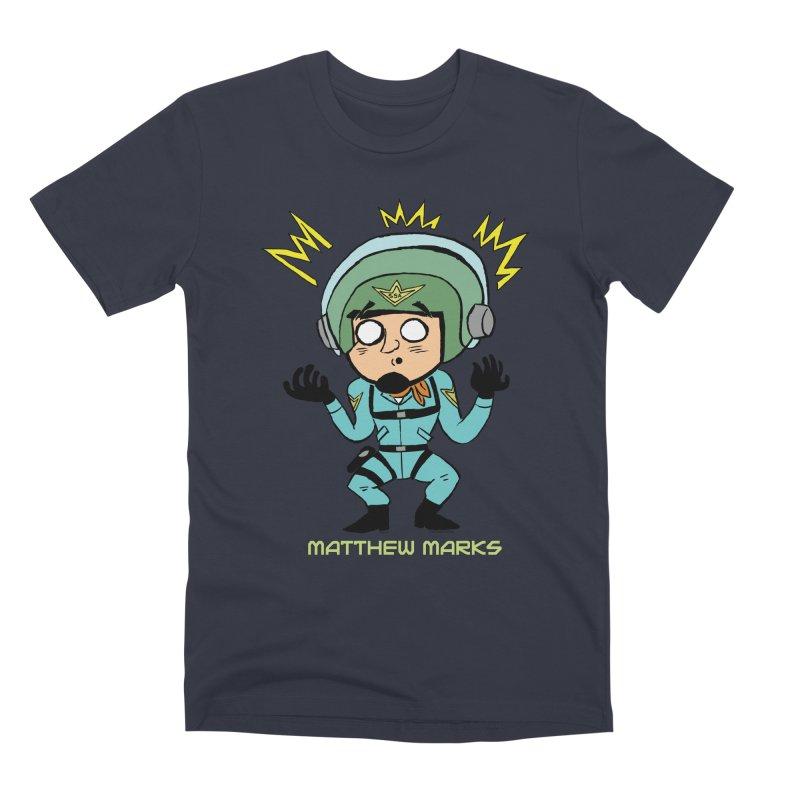 Matthew Marks Surprised Men's Premium T-Shirt by The Official Bustillo Publishing Shop