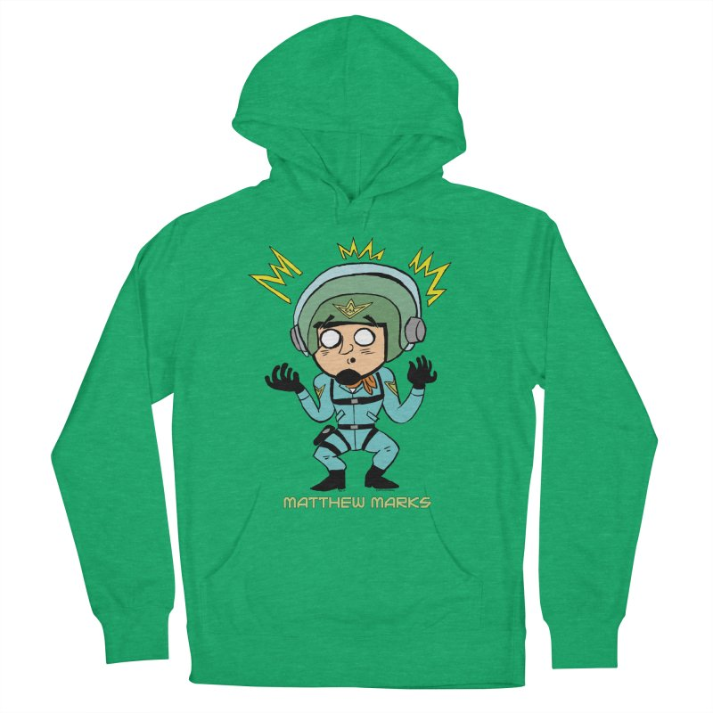 Matthew Marks Surprised Men's French Terry Pullover Hoody by The Official Bustillo Publishing Shop